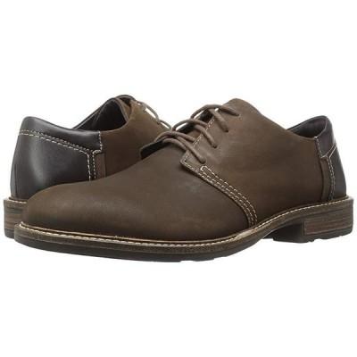 Naot Chief メンズ オックスフォード Oily Brown Nubuck/French Roast Leather/Hazelnut Leather