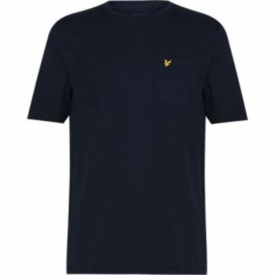 ライル アンド スコット Lyle and Scott メンズ Tシャツ ポケット トップス Relaxed Pocket T Shirt Dark Navy Z