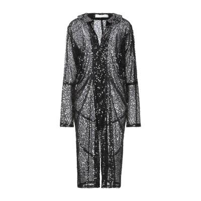 VICTORIA BECKHAM 7分丈ワンピース・ドレス ブラック 14 ポリエステル 100% 7分丈ワンピース・ドレス