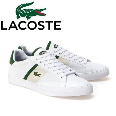 LACOSTE ラコステ メンズ スニーカー FAIRLEAD 1161 ホワイト 白 靴 シューズ ワニ ロゴ ゴルフ mzi014