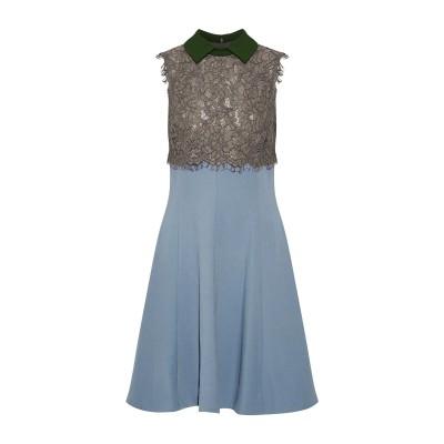 MIKAEL AGHAL ミニワンピース&ドレス 鉛色 10 ポリエステル 95% / ポリウレタン 5% ミニワンピース&ドレス