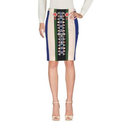 メアリー・カトランズ MARY KATRANTZOU ひざ丈スカート ブルー 8 レーヨン 95% / ポリウレタン 5% ひざ丈スカート