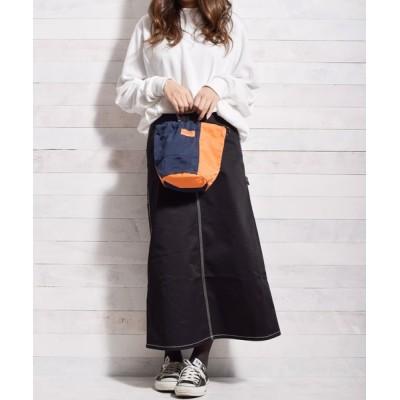 realize / 【72】【UNIVERSAL OVERALL】 ナイロンツイルコンビ 巾着ポーチ(11Lサイズ) WOMEN バッグ > ハンドバッグ
