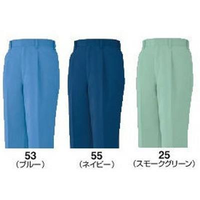 5281 春夏用ワンタックパンツ(ビッグボーン・bigborn)作業服・作業着 70~120 ポリエステル65%・綿35%