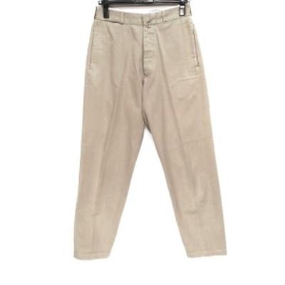 ヤエカ/ライクウェア YAECA/LIKE WEAR パンツ サイズ29 メンズ - ベージュ フルレングス/ボタンフライ【中古】20210613
