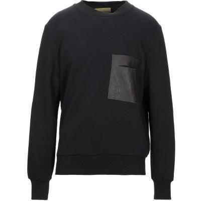 LOW BRAND スウェットシャツ ブラック 1 コットン 100% スウェットシャツ