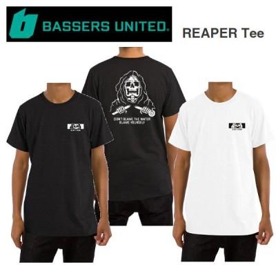 バサーズユナイテッド BASSERS UNITED REAPER Tee メンズ Tシャツ 半袖 アウトドア フィッシング 釣り