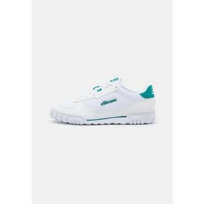 エレッセ メンズ 靴 シューズ TANKER - Trainers - white/green