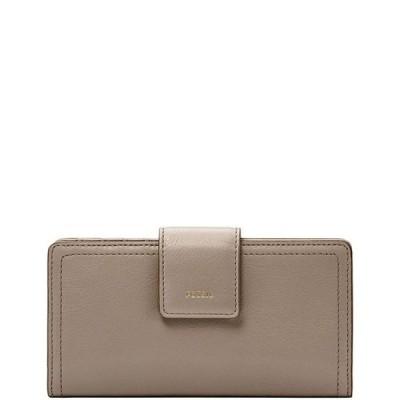 フォッシル レディース 財布 アクセサリー Logan RFID Leather Tab Bifold Wallet