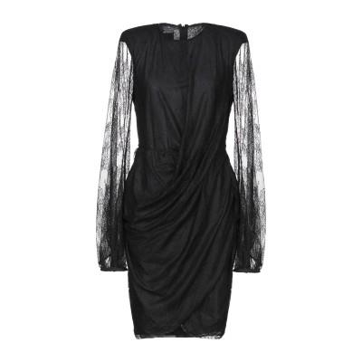 ピンコ PINKO ミニワンピース&ドレス ブラック 42 ナイロン 100% ミニワンピース&ドレス
