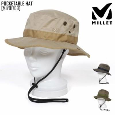 2021 春夏 新作 ミレー MILLET ポケッタブル ハット POCKETABLE HAT 帽子 ハット MIV01709 メンズ レディース
