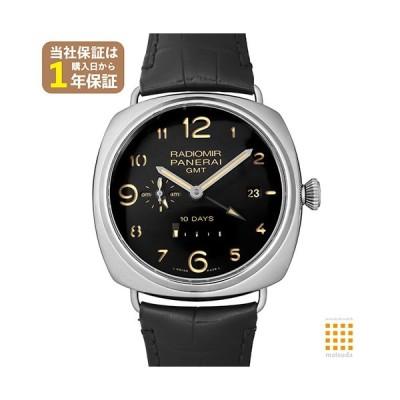 パネライ ラジオミール 10デイズ GMT アッチャイオ PAM00589 大阪ブティック限定20本 USED