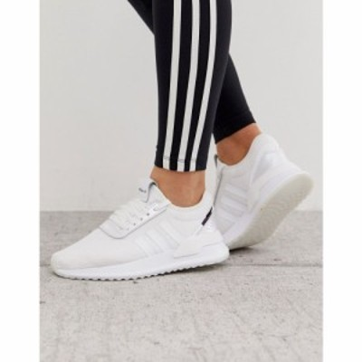 アディダス adidas Originals レディース スニーカー シューズ・靴 U Path Run trainer in white Ftwr white