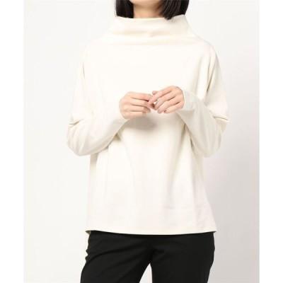 tシャツ Tシャツ デザインモックネックトップス