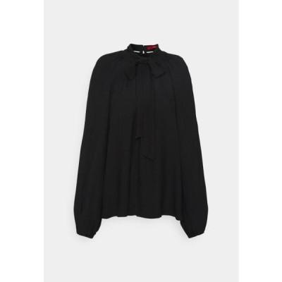 レディース ファッション Blouse - black