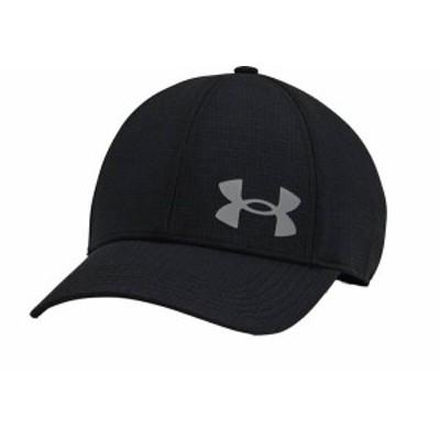 アンダーアーマー メンズ 帽子 アクセサリー Under Armour Men's Iso-Chill ArmourVent Stretch Training Hat Black/Pitch Gray