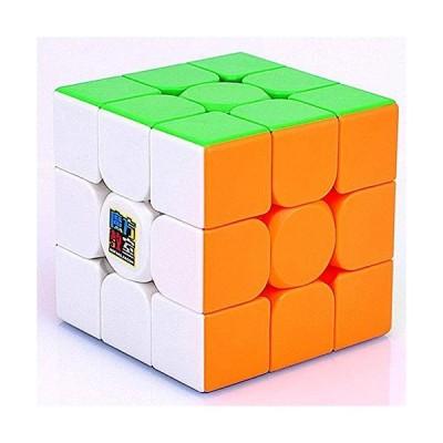 LiangCuber Moyu Meilong 3x3 M マグネティックスピードキューブステッカーレスMeilong M パズルキューブ3x3x3