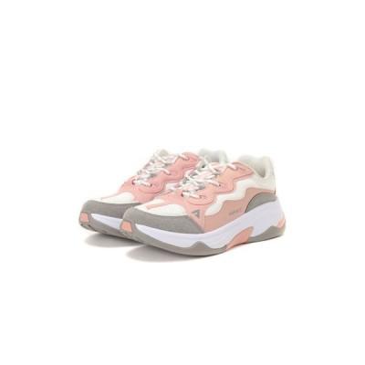 ASFVLT / ASFVLT(アスファルト)スニーカー ONSET ON006 ROSE WHITE GREY