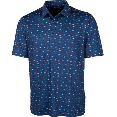 カッター&バック Cutter & Buck メンズ ポロシャツ 大きいサイズ トップス big and tall pike polo shirt Indigo