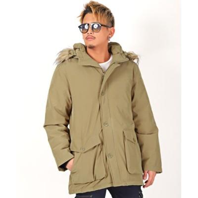 【ラグスタイル】 N-3Bミリタリー中綿ジャケット/N-3B メンズ 中綿ジャケット ミリタリー アウター ビター BITTER 冬 メンズ ベージュ XL LUXSTYLE