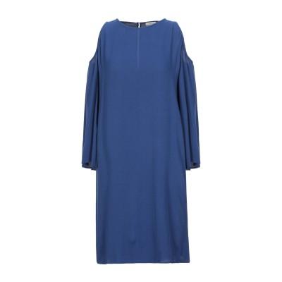 GOLD CASE ミニワンピース&ドレス ブルー 42 レーヨン 100% ミニワンピース&ドレス