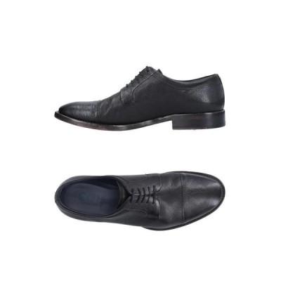 CREATION OF MINDS レースアップシューズ  メンズファッション  メンズシューズ、紳士靴  その他メンズシューズ、紳士靴 ブラック