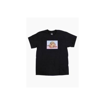 ルーズジョインツ LOOSE JOINTS プリント Tシャツ 中島甚松屋 トップス 半袖 LJ-AW20-T14 メンズ M-XL ブラック/黒 NAKAJIMA TEE -BLACK-