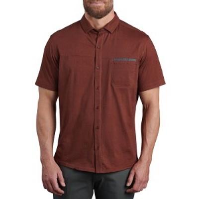 キュール メンズ シャツ トップス Innovatr Twill Shirt - Men's Redwood