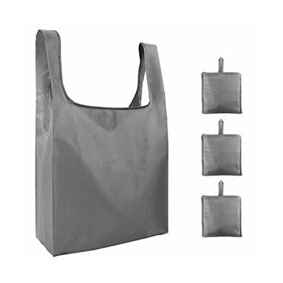 HENGSHENG エコバッグ 折りたたみ 大容量 買い物袋 3個セット 厚くショッピングバッグ 防水 コンパクトバッグ 収
