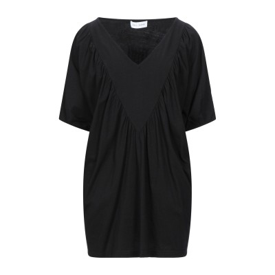 WEILI ZHENG T シャツ ブラック S コットン 100% T シャツ