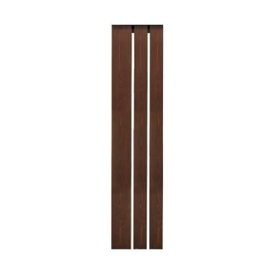 オンリーワンクラブ ウェルカムピラー機能門柱 トリプル6型 ベース:ライトブラウン KE1-K68L