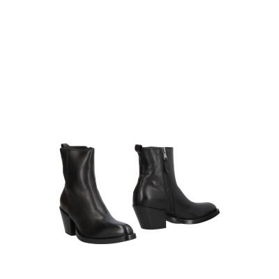 ELENA IACHI ショートブーツ ブラック 36.5 革 ショートブーツ