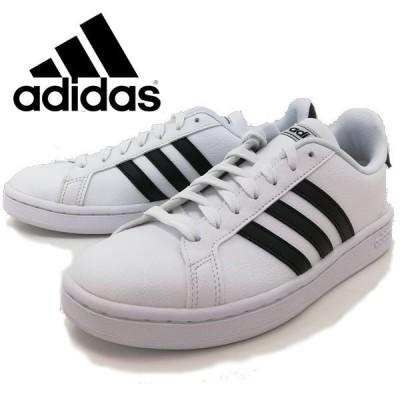 アディダス adidas グランドコート 通学 靴 レディース 36483