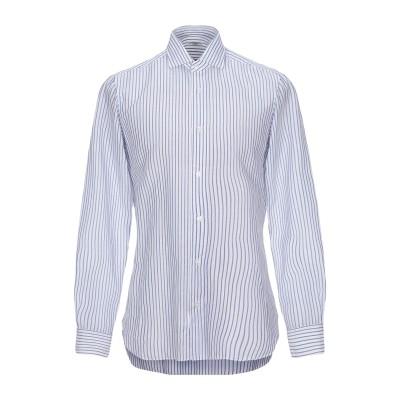 BUONAMASSA シャツ ブルー 43 コットン 100% シャツ