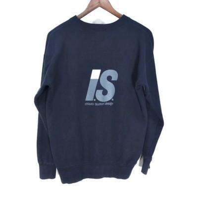 I.S. ISSEY SPORT 【men1477I】 バックロゴボックススウェットシャツ 80s 90s 希少 chisato tsumori design Archive ISSEY MIYAKE AR