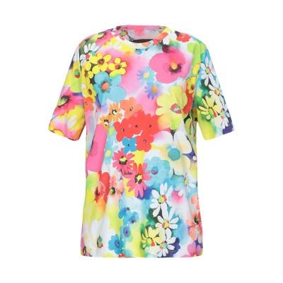 ラブ モスキーノ LOVE MOSCHINO T シャツ フューシャ 38 コットン 100% / ポリウレタン T シャツ
