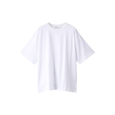 ENFOLD エンフォルド クラシック天竺1 ニットネックTシャツ レディース ホワイト 38
