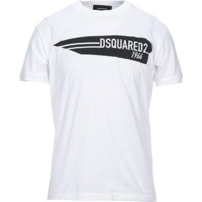 ディースクエアード DSQUARED2 メンズ Tシャツ トップス T-Shirt White