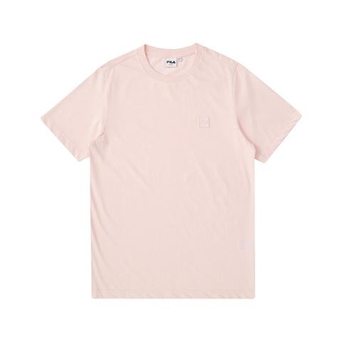 FILA 短袖圓領T恤-淺粉 1TEV-1203-PK
