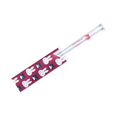 レッド/箸 ミッフィー miffy & cat クリア箸 レッド 402597