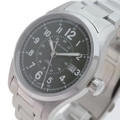ハミルトン HAMILTON 腕時計 メンズ H70595163 カーキ フィールド オート 自動巻き カーキ シルバー 送料無料