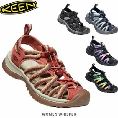 送料無料 KEEN キーン サンダル レディース ウィスパー WOMEN WHISPER KEE0015 国内正規品