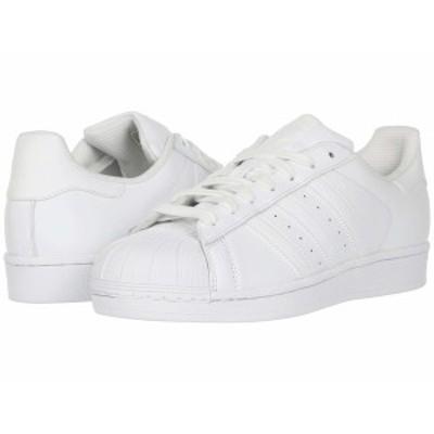 アディダスオリジナルス メンズ スニーカー シューズ Superstar Foundation White/White