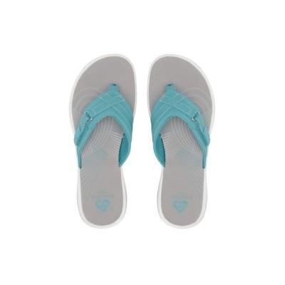 クラークス Clarks レディース ビーチサンダル シューズ・靴 Breeze Sea Aqua Synthetic