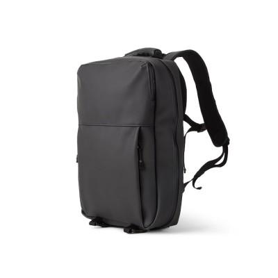 【カバンのセレクション】 マンセル リュック メンズ 防水 小さめ おしゃれ ビジネスリュック ブランド MANSEL 0001 ユニセックス ブラック フリー Bag&Luggage SELECTION