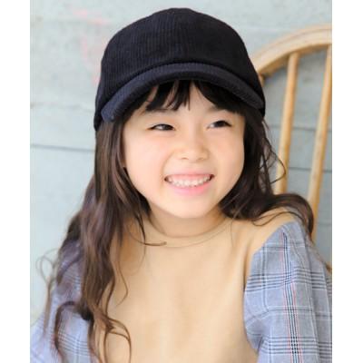 14+(ICHIYON PLUS) / KIDSコーデュロイバックリボンキャップ KIDS 帽子 > キャップ