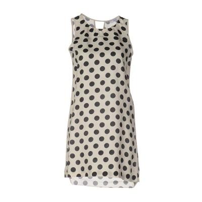 リュー ジョー LIU •JO ミニワンピース&ドレス アイボリー 38 65% コットン 35% シルク ミニワンピース&ドレス