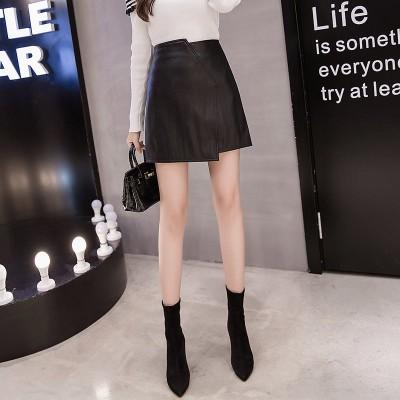 高品質早割販売春服 通学 通勤 百掛け スリム ハイウエスト スカート 女性らしい 可愛い 短い スカート 韓国ファッション 減齢 Aラインスカート
