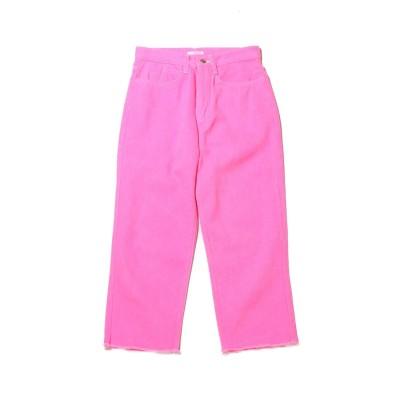 アトモス ピンク atmos pink atmos pink ビビットカラー デニムパンツ (PINK)