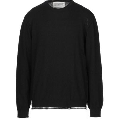 ボクー ..,BEAUCOUP メンズ ニット・セーター トップス sweater Black